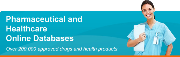 Pharmaceutical and Healthcare Online Databases